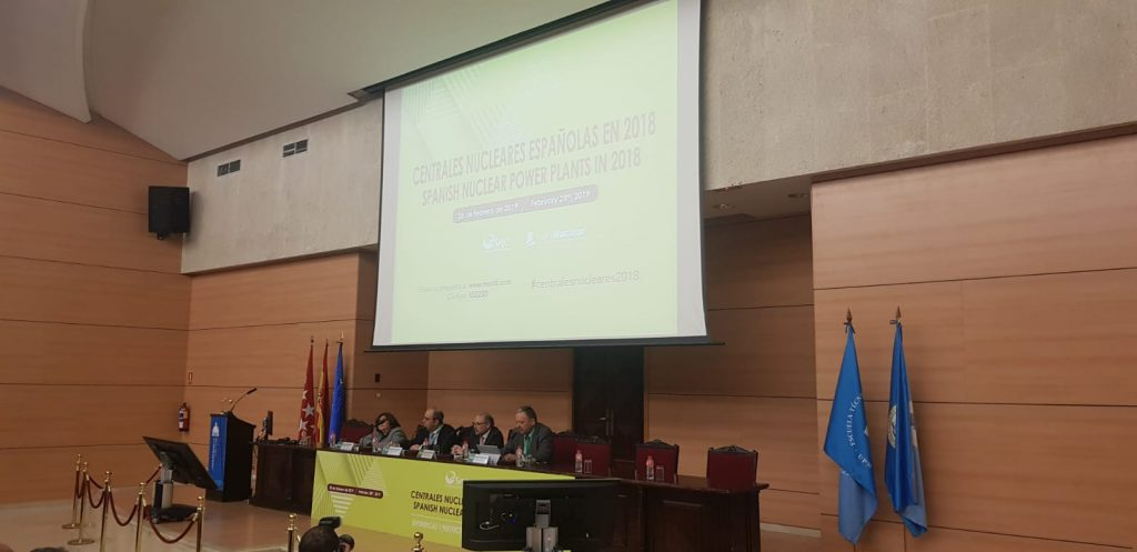 """INGECID attends the event """"Nuclear power plants in 2018. Experiences and perspectives"""""""