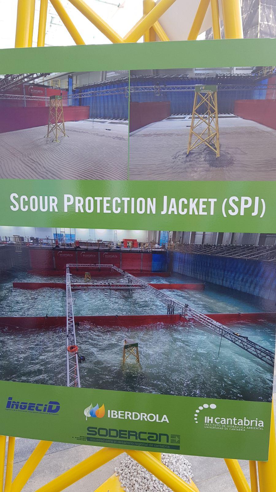 Scour protection jacket SPJ